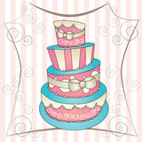 Big cake Stock Images