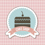 Big Cake Royalty Free Stock Photography