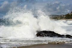 Big California surf Stock Images