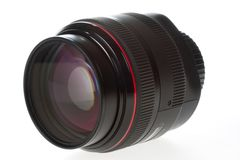 Big Camera Lens Stock Photo