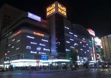 Big Camera Japanese electronics  Royalty Free Stock Image