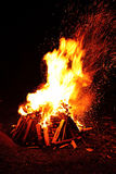Big campfire Royalty Free Stock Image