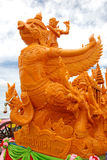 Big candle statue. Big candle statue at candle festival in Thailand Royalty Free Stock Photography