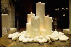 Big candles Royalty Free Stock Image
