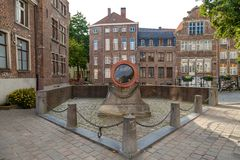 Big Cannon in Ghent Stock Images