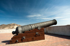 Big cannon Stock Images