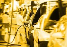 big car factory Royalty Free Stock Photos