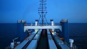 Big cargo ferry stock footage