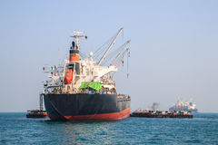 Big cargo ship. Royalty Free Stock Images