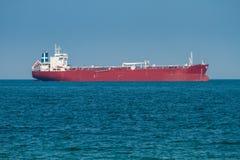Big cargo ship in sea Stock Photos