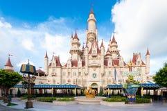 Big Castle of Universal Studio stock images