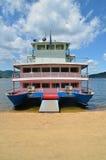 Big catamaran ship Stock Photos