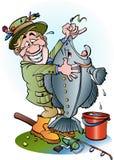 A big catch Stock Image