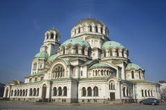 BIG CATHEDRAL IN BULGARIA Royalty Free Stock Images