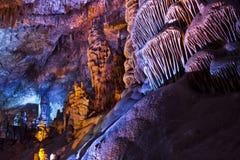 Big cave in Israel. Big cave sorek locaded in Israel Stock Images