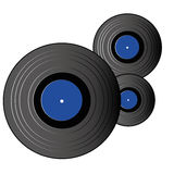 Big cds. Abstract big cds symbol on white background Royalty Free Stock Images