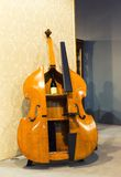 Big cello like cupboard for wine Royalty Free Stock Photo