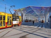 The big center tram. Stock Image