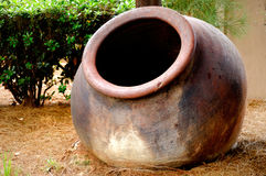 Big Ceramic Pot Stock Image