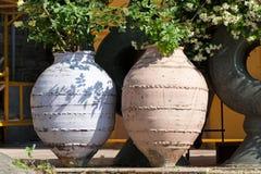 big ceramic pot Royalty Free Stock Image