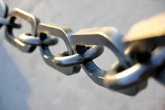 Big Chain Royalty Free Stock Photo