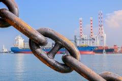Big chain Stock Photo