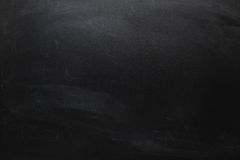 Big Chalkboard Background. Big Dark Chalkboard Empty Background Royalty Free Stock Photos