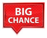 Big Chance misty rose pink banner button vector illustration
