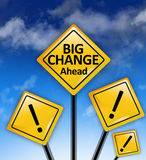 Big changes ahead concept Royalty Free Stock Photography