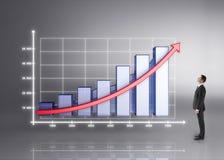 Big chart Stock Image
