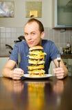 Big Cheeseburger Stock Photos