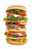 Big cheeseburger Royalty Free Stock Images