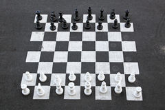 Big chess Royalty Free Stock Image