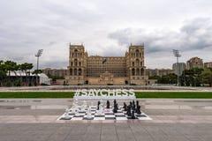 Big chess Stock Photography