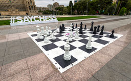 Big chess Royalty Free Stock Photography