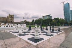 Big chess Royalty Free Stock Photos