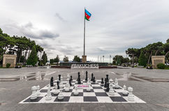 Big chess Royalty Free Stock Images