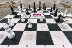 Big chess Stock Image