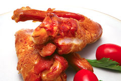 Big chicken wings Stock Images