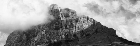 Big Chief Mountain Panorama In Infrared royalty free stock image