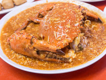 Big Chilli Crab Royalty Free Stock Images