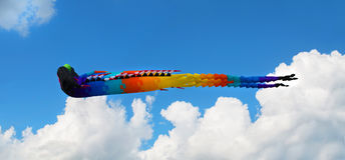 Dragon kite Stock Images