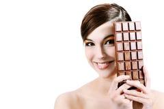 Big chocolate Stock Photo
