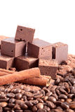 The big chocolate bar Royalty Free Stock Images