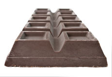 Big chocolate bar Royalty Free Stock Images