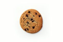 Big Chocolate Chip Cookie Stock Photos