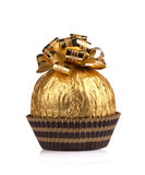 Big chocolate gift Royalty Free Stock Photography