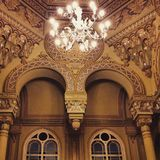 Big choral synagogue St-Petersburg. Russian religian style Stock Image