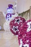 Big Christmas  balls Stock Images