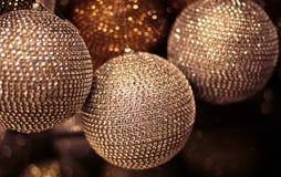 Big christmas balls Royalty Free Stock Image